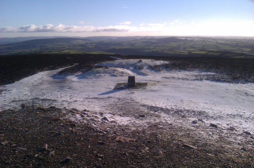 Dunkery Beacon 15.1.13