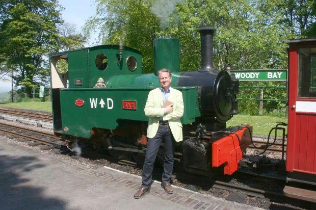 103 Michael Portillo Lynton Railway