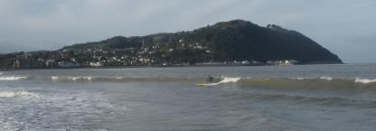 Riding the Waves at Minehead. By Active Adventure SW Exmoor. http://www.activeadventuresw.co.uk/