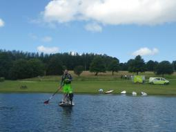 With the sup pubs on Wimbleball Lake. Active Adventure SW Exmoor . http://www.activeadventuresw.co.uk/