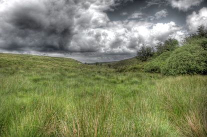 Stormy Skies over Exmoor. By Peter French. http://www.flyingtigers.co.uk/