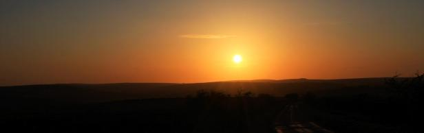Sunset over Exmoor. By Peter French. www.flyingtigers.co.uk