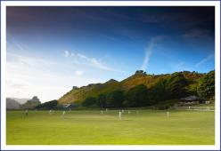 Cricket at the Valley of the Rocks by Dave Rowlatt http://www.davidjrowlattphotography.com/