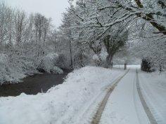 301 David Binks River Exe by Court Farm Exford 17 Jan 13