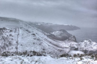 304 John McGowan Valley of the Rocks in the Snow