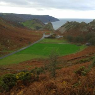Valley of the Rocks by Rebecca Crush