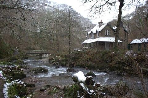 Watersmeet in Winter. By John McGowan