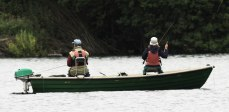 A spot of fishing at Wimbleball Lake. By Peter French.