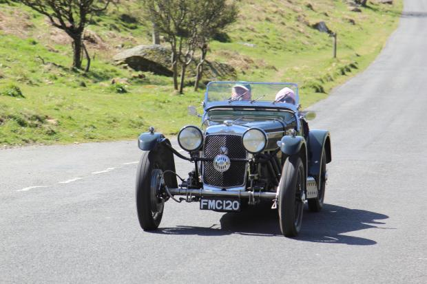 80th Anniversary Exmoor Rally by the Frazer Nash Car Club. Photo by John McGowan