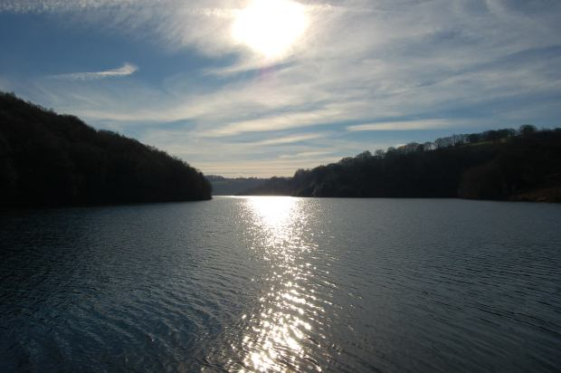 Clatworthy Reservoir - Looking up the lake from Tripp. Photo by Peter Duckett