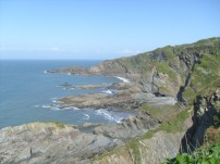 Hele Bay near Ilfracombe
