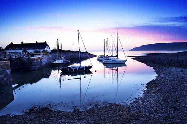 Porlock Weir on Sunday 7 July - photo by Rob Hatton