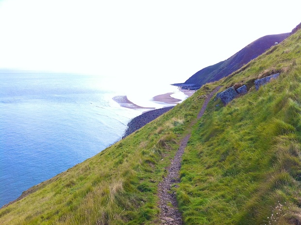 The Cliff Path at Hurlestone Point