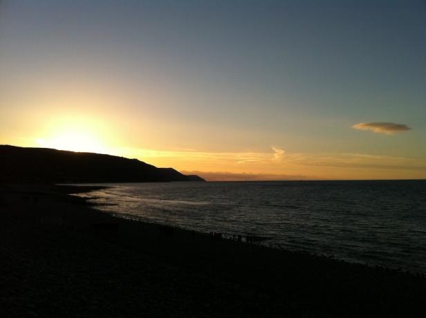 Sunsets over Bossington 1