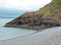 On the edge of the beach 1