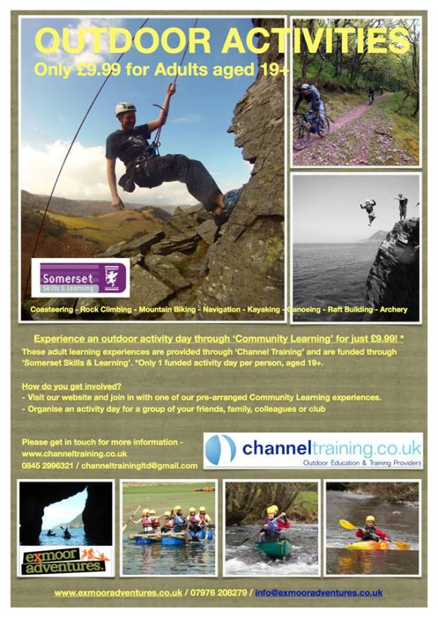 101 Exmoor Adventures event