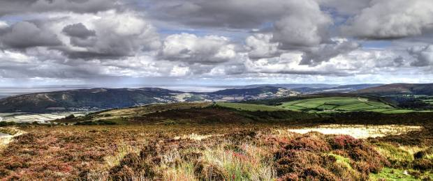 Looking across Porlock Vale. Photo by Peter French