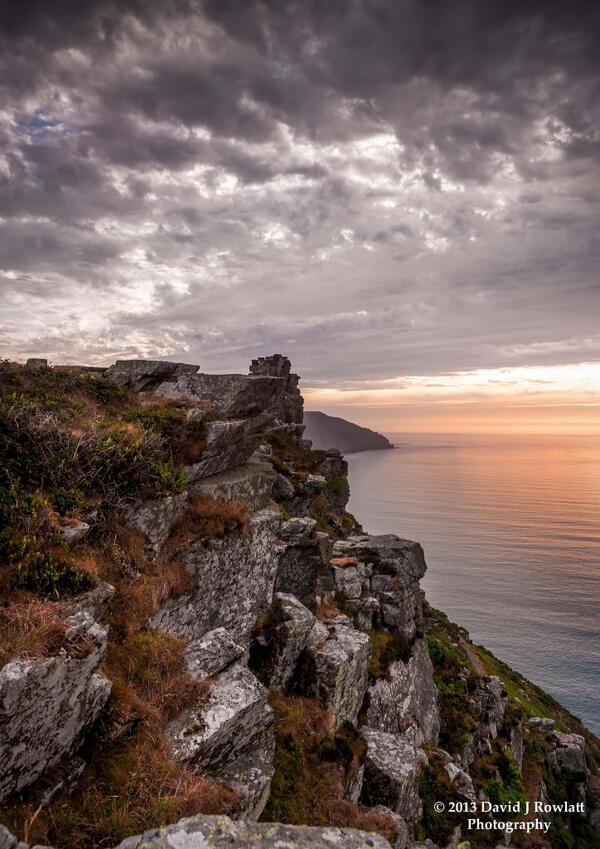 The Cliff Walk at the Valley of the Rocks. Photo by Dave Rowlatt