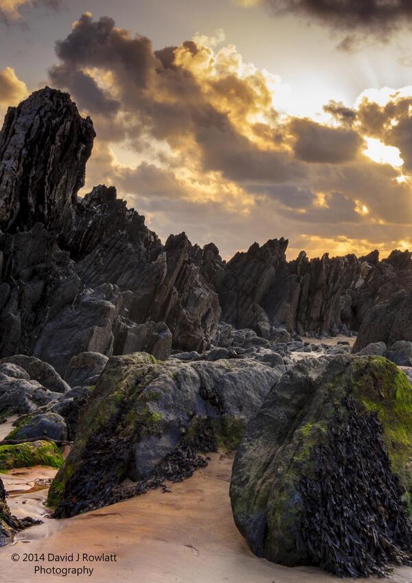 North Devon coast. Photo by Dave Rowlatt. www.davidjrowlattphotography.com