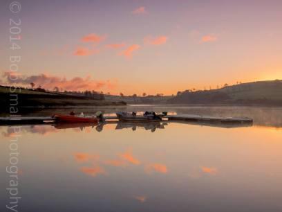 401 Bob Small Wimbleball Lake Sunrise
