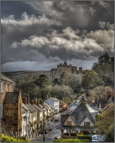 Dunster - Castle and Yarn Market. Photo by Mike Watson