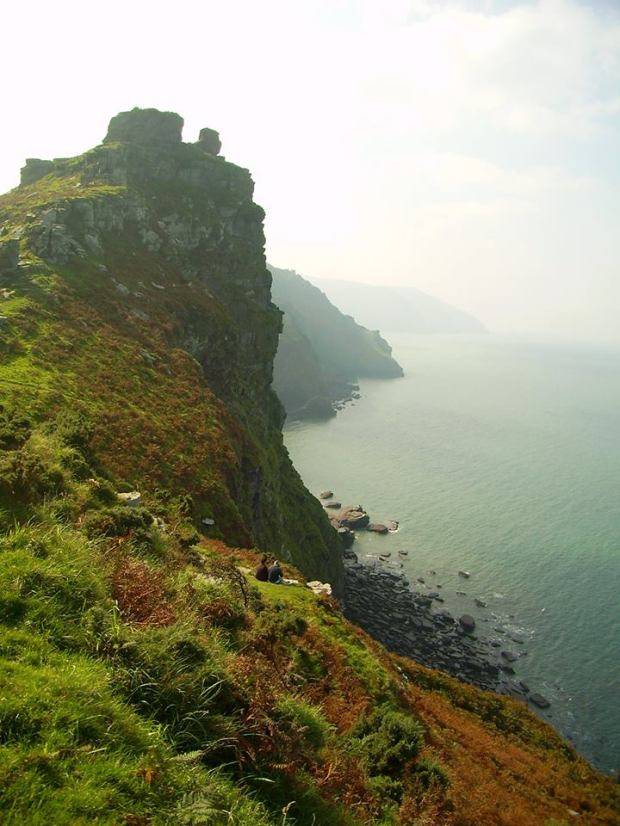 Valley of the Rocks, North Devon. Photo by Trevor Ley
