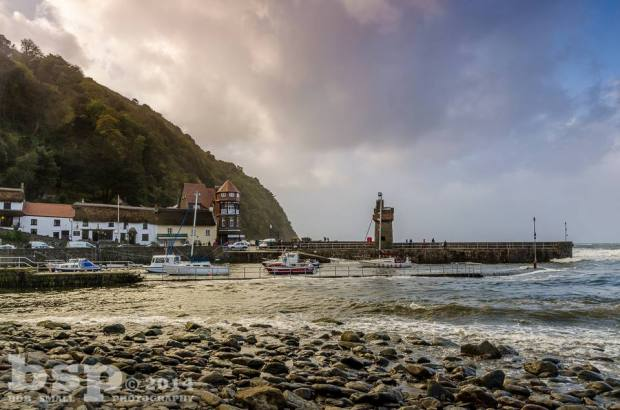 Winter in Lynmouth. Photo by Bob Small