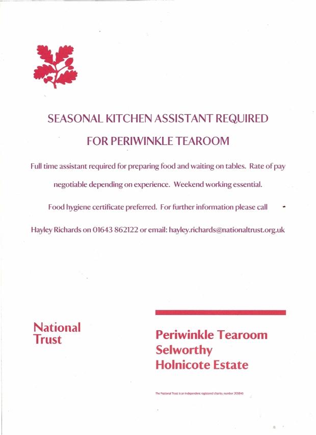 seasonal staff poster 2014