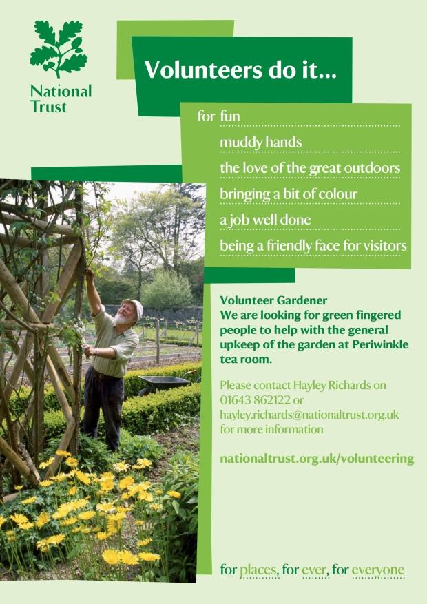 Volunteer gardener 2014