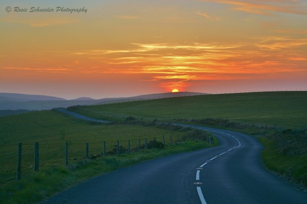 Road to Lynmouth. Photo by Rosie Schneider