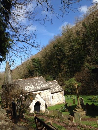 Culbone Church, the smallest church in England