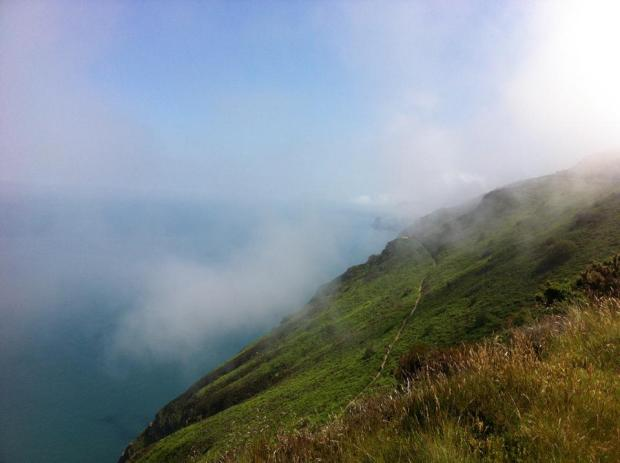 Exmoor coast, Summer 2013. Photo by Jenny Dalton