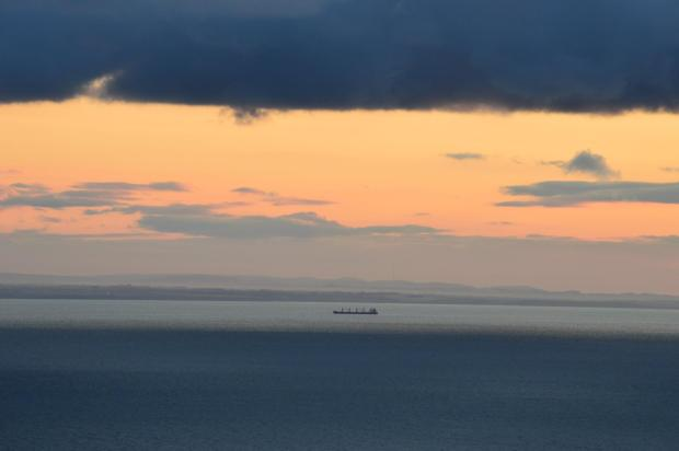 Looking across the Bristol Channel from Lynton, Exmoor towards Wales. Photo by Annette Baker