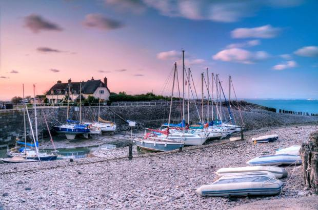 Porlock Weir. Photo by Becky Stares.