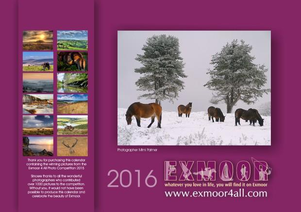 EXMOOR CALENDAR 2016.