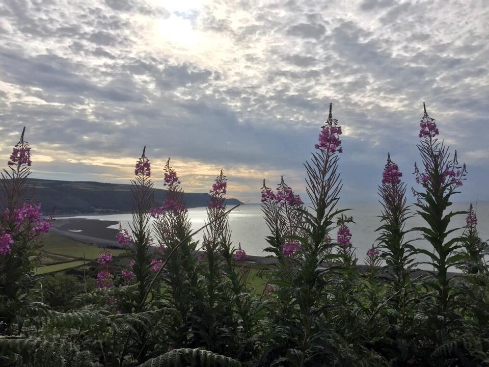 301 Clouds over Porlock Bay (EW)