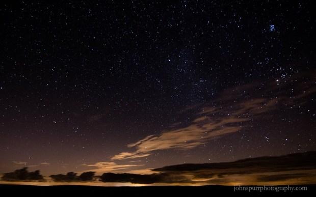 Photo by John Spurr, taken on 7 October 2015 over western Exmoor.