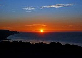0908-peter-mather-sun-setting-over-porlock-bay