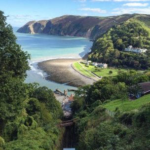 301-pat-campbell-looking-down-on-lynmouth