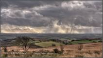 237-mike-watson-on-molland-common-looking-south-towards-dartmoor-and-the-windmills-9th-nov-2016