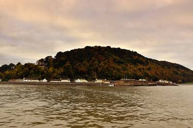 803-peter-mather-minehead-harbour-from-the-sea