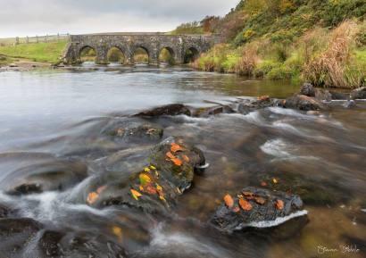814-simon-dibble-the-ancient-five-arch-bridge-of-landacre