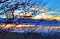 102-linda-thompson-on-the-way-home-near-challcombe-beautiful-sky