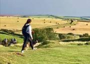 English countryside #uk #somerset #lynton #takemeback #holiday #latergram #exmoor 📷: @socorrograceholden