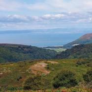 I spy Wales #exmoor #dunkery #somerset #somersetscenery #walks #walkswithmydog 📷: @jennielamb66