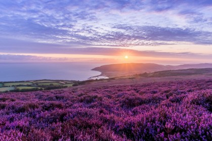 Sunrise over Porlock Bay by John Spurr