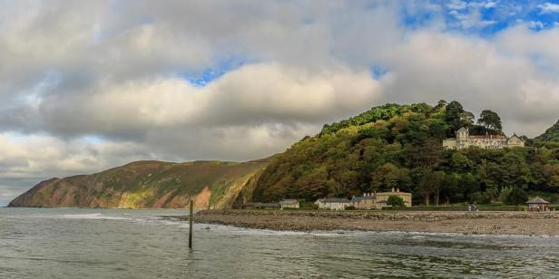 0908 Rob Davey Eastern beach, Lynmouth to Foreland point