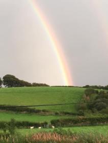 0913 Mop Draper Wonderful rainbow over Withypool tonight