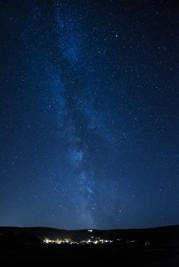0922 John Spurr The Milky Way over Porlock and Dunkery last nigh