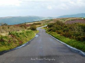0930 Anne Parsons Exford to Porlock Hill a favourite road